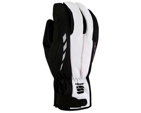 Sportful Doppio Gloves (Black/Silver)