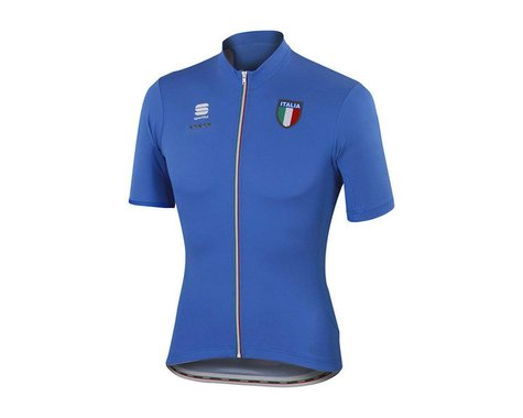 Sportful Italia CL Short Sleeve Jersey (Red) (Xxxlarge)