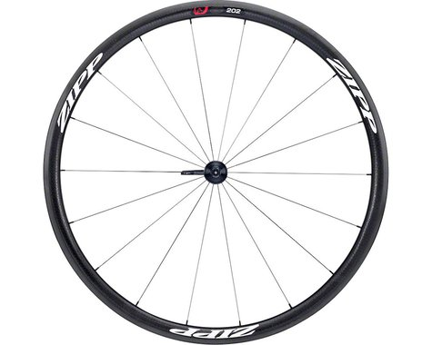 Zipp 202 Firecrest Carbon Clincher Front Wheel (White Decal) (700c)