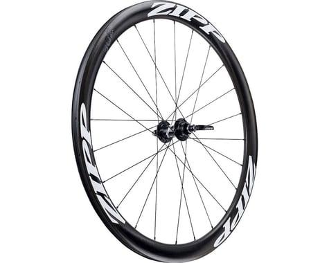 ZIPP 302 Carbon Clincher Front Wheel (White Decal) (700c) (Centerlock Disc)