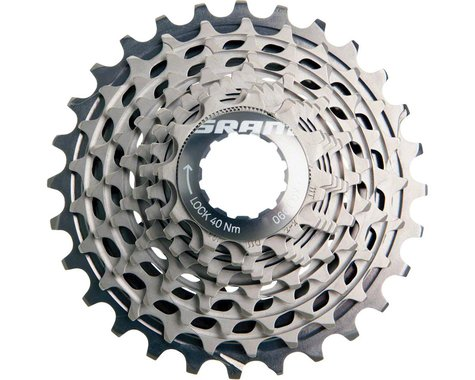 SRAM Red XG-1090 X-Dome 10-Speed Cassette (Silver) (11-25T)