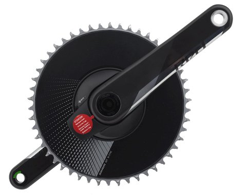 SRAM Red 1 AXS Aero DUB Power Meter Crankset (Black) (1 x 12 Speed) (DUB Spindle) (172.5mm) (50T)
