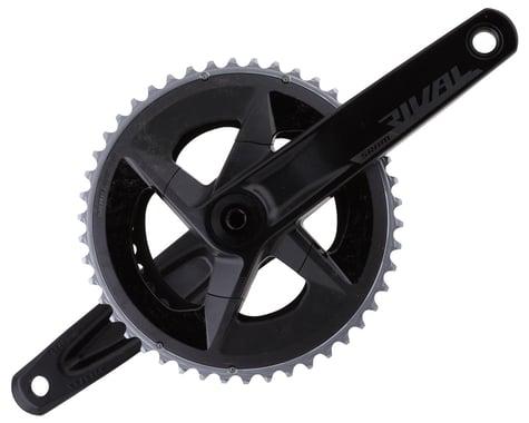 SRAM Rival AXS Crankset w/ Quarq Power Meter (Black) (2 x 12 Speed) (DUB Spindle) (D1) (172.5mm) (46/33T)