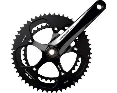 SRAM Apex Crankset (Black) (2 x 10 Speed) (GXP Spindle) (175mm) (50/34T)