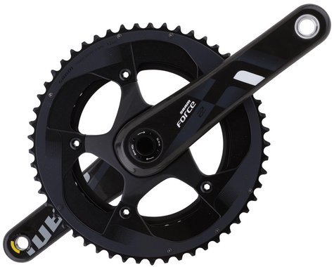 SRAM Force 22 Crankset (Black) (2 x 11 Speed) (BB30 Spindle) (175mm) (53/39T)