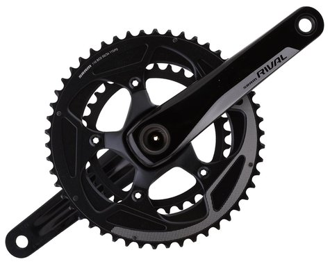 SRAM Rival 22 Crankset (Black) (2 x 11 Speed) (GXP Spindle) (172.5mm) (50/34T)