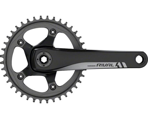 SRAM Rival 1 Crankset - 170mm, 10/11-Speed, 42t, 110 BCD, GXP Spindle Interface,
