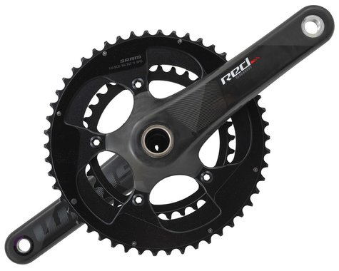 SRAM Red Compact Crankset (Black) (2 x 11 Speed) (GXP Spindle) (C2) (170mm) (50/34T)