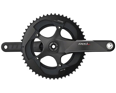 SRAM Red Crankset (Black) (2 x 11 Speed) (BB30 Spindle) (C2) (170mm) (53/39T)