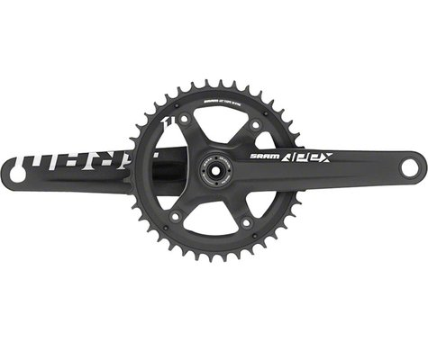 SRAM Apex 1 X-Sync Crankset (Black) (1 x 10/11 Speed) (BB30 Spindle) (172.5mm) (42T)