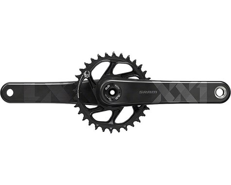 SRAM XX1 Eagle Carbon Crankset - 170mm, 12-Speed, 34t, Direct Mount, DUB Spindle