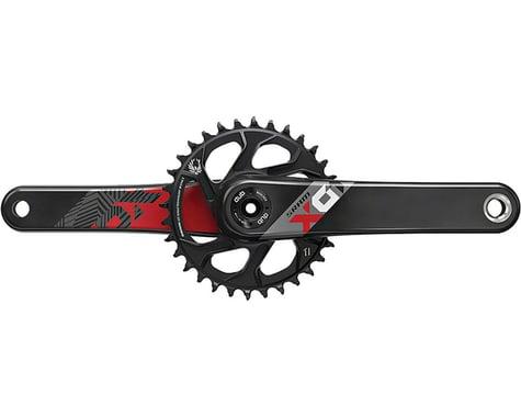 SRAM X01 Eagle Carbon Boost DUB Crankset (Black/Red) (1 x 12 Speed) (175mm) (32T)