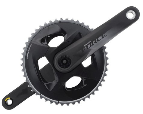SRAM Force AXS 12-Speed Crankset (Black) (DUB) (175mm) (48-35T)