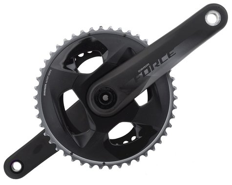 SRAM Force AXS Crankset (Black) (2 x 12 Speed) (DUB Spindle) (170mm) (46/33T)