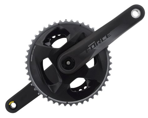 SRAM Force AXS 12-Speed Crankset (Black) (DUB) (175mm) (46-33T)