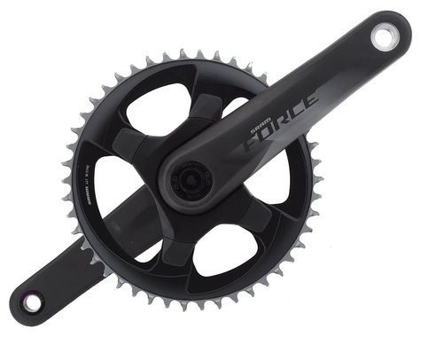 SRAM Force 1 AXS Crankset (Black) (1 x 12 Speed) (DUB Spindle) (170mm) (46T)