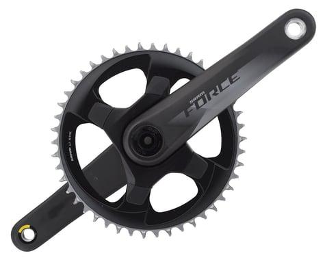 SRAM Force 1 AXS 12-Speed Crankset (Black) (DUB) (175mm) (46T)