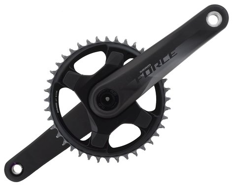 SRAM Force 1 AXS Crankset (Black) (1 x 12 Speed) (DUB Spindle) (170mm) (40T)