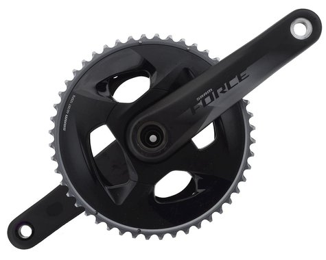 SRAM Force AXS 12-Speed Crankset (Black) (GXP) (170mm) (48-35T)