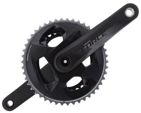 SRAM Force AXS Crankset (Black) (2 x 12 Speed) (GXP Spindle) (170mm) (46/33T)