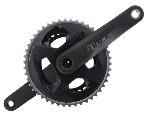 SRAM Force AXS Crankset (Black) (2 x 12 Speed) (GXP Spindle) (172.5mm) (46/33T)