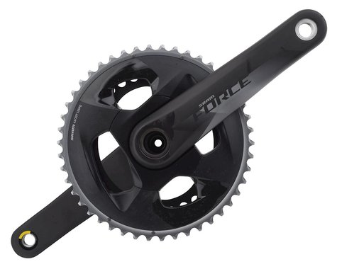SRAM Force AXS 12-Speed Crankset (Black) (GXP) (175mm) (46-33T)