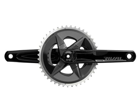 SRAM Rival AXS Wide Crankset (Black) (2 x 12 Speed) (DUB Spindle) (D1) (175mm) (43/30T)