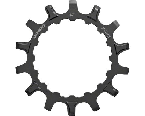 SRAM Steel X-Sync EX1 Sprocket (Black) (For Bosch Motors) (14T)