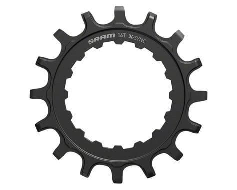 SRAM Steel X-Sync EX1 Sprocket (Black) (For Bosch Motors) (16T)