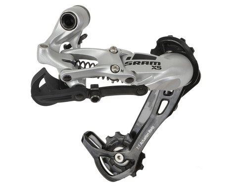 SRAM X5 Rear Derailleur (Silver) (9 Speed) (Long Cage)