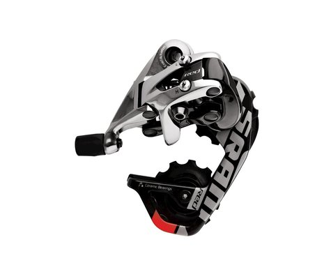 SRAM Red Rear Derailleur (Black/Silver) (Medium Cage)