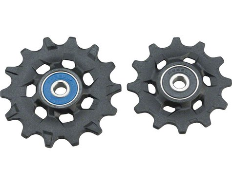 SRAM XX1,/X01 Eagle Rear Derailleur Ceramic Bearing Pulleys (Fits GX Eagle)