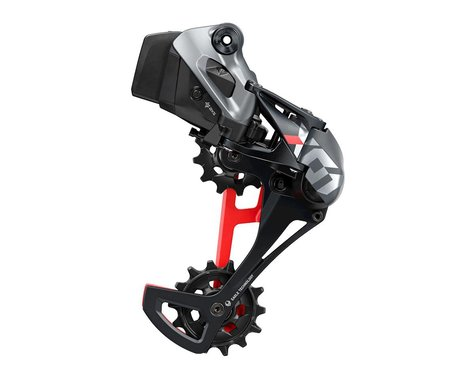 SRAM X01 Eagle AXS Rear Derailleur (Black/Red) (12 Speed) (Long Cage)