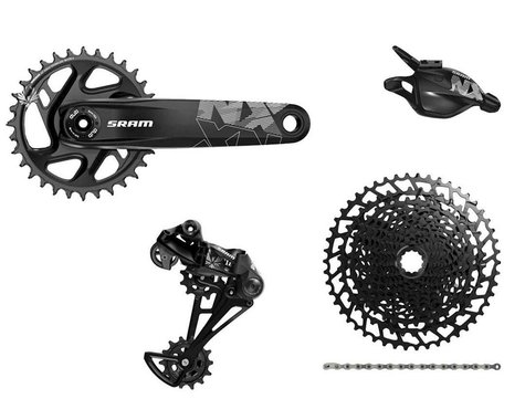 SRAM NX Eagle Groupset (1 x 12 Speed) (32T) (DUB Boost) (170mm)