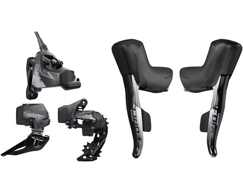 SRAM Force eTap AXS 2X Wireless Flat-Mount HRD Disc Groupset