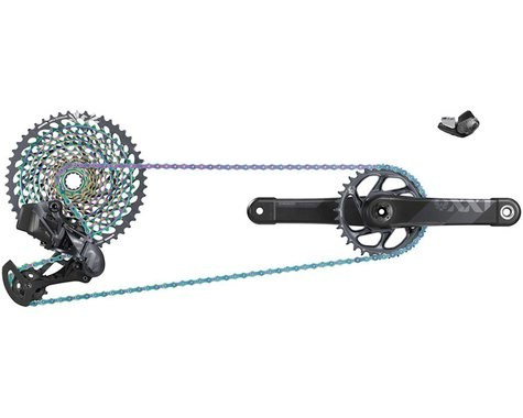 SRAM XX1 Eagle AXS Electronic Groupset (1x12-Speed) (34T) (DUB Boost) (170mm)