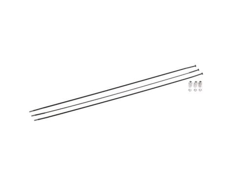 SRAM 286mm Sprint Spokes/Nipples S30 Left Rear