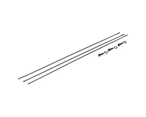 SRAM Spokes/Nipples/Washers 3-pack 280mm CX-Sprint Straight-Pull External Black,