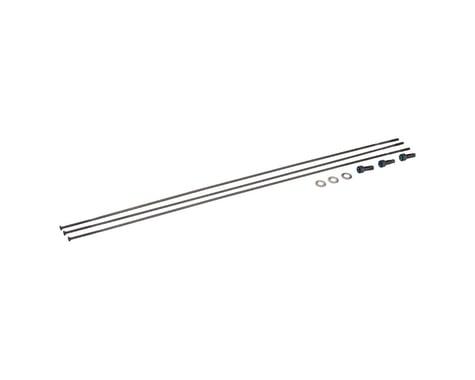 SRAM Spokes/Nipples/Washers 3-pack 298mm CX-Sprint Straight-Pull External Black,
