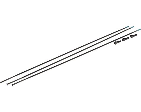 SRAM Spokes/Nipples 3-pack 294mm Straight-Pull External Black, Roam 40/Rail 40,