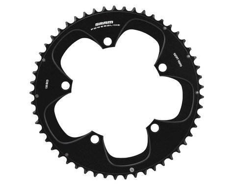 SRAM Red/Force 10-Speed Outer Chainring (Black) (130mm) (Offset N/A) (53T)