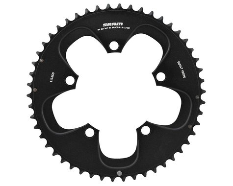 SRAM Red/Force 10-Speed Outer Chainring (Black) (110mm) (Offset N/A) (50T)