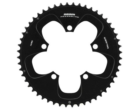 SRAM Red/Force 10-Speed Outer Chainring (Black) (110mm) (52T)