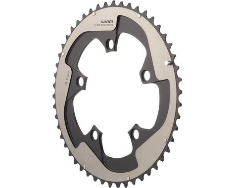 SRAM Red Yaw 10-Speed Hidden Bolt Chainring (Grey) (130mm BCD) (Offset N/A) (50T)