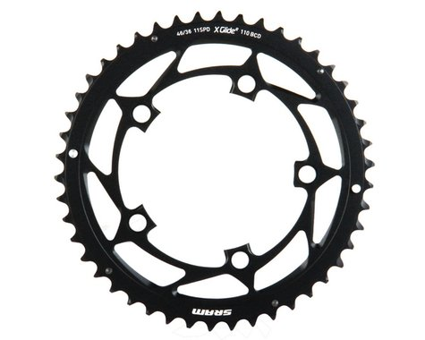 SRAM 11-Speed Outer Chainring (Black) (110mm BCD) (46T)