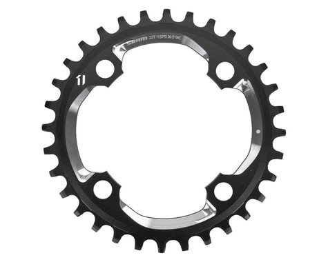 SRAM X01 X-Sync 4-Bolt Chainring (Black) (94mm BCD) (Offset N/A) (32T)
