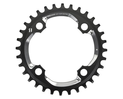 SRAM X01 X-Sync 4-Bolt Chainring (Black) (94mm BCD) (32T)