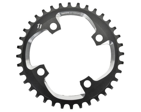 SRAM X01 X-Sync 4-Bolt Chainring (Black) (94mm BCD) (Offset N/A) (36T)