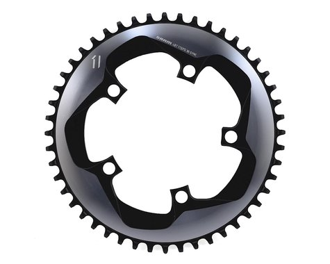 SRAM Force 1 X-Sync 1x Chainring (Black) (110 BCD) (Offset N/A) (48T)