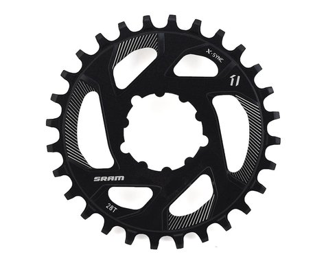 SRAM X-Sync Direct Mount Chainring (0mm Offset) (28T)